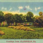 Rural scene from Claysville, PA.  Image from author's private collection