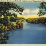 Conococheague Creek, near Hagerstown, MD.  This image from author's private collection.