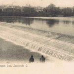 Muskingum Dam, Zanesvile, Ohio.  Image from author's private collection