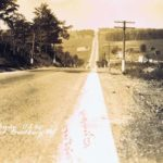 National Road west of Frostburg, MD.  This image from author's private collection.