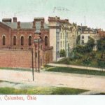 Ohio Penitentiary, Columbus, Ohio.  Image from author's private collection