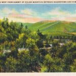 Polish Mountain, between Hagerstown and Cumberland, MD. This image from author's private collection
