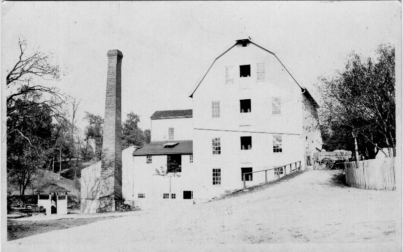 Old mill In New Burlington